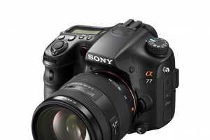The Sony SLT-A77 is Futuristic Video Fun