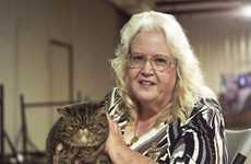 Cat-Cradling Photography - The Dylan DeRose 'Cat Fanciers Association' Series is Passion-Filled
