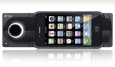 O Car iPhone dock
