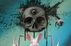 Freaky Pop Art Illustrations
