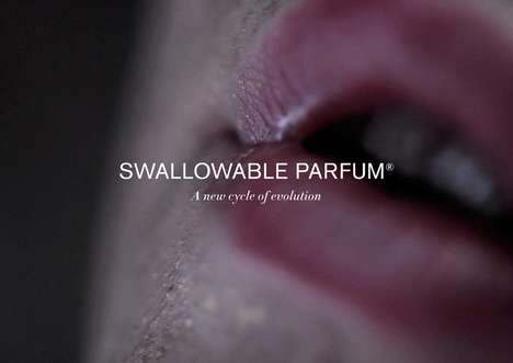 Perfumed Perspiration Pills - Sweat Your Unique Fragrance with Swallowable Parfum by Lucy McRae