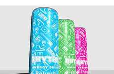 40 Daring Energy Drink Designs