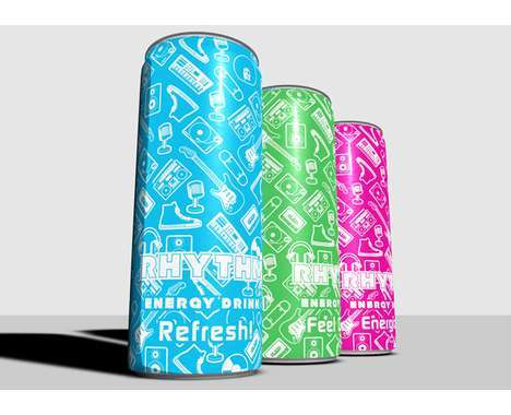 Daring Energy Drink Designs