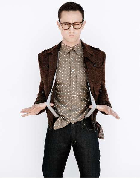 Crowdsourced Magazine Shoots - BlackBook Magazine REquest Wants Fans to Edit Joseph Gordon-Levitt