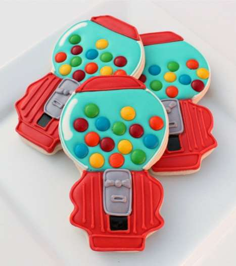 Gumball Machine Cookies