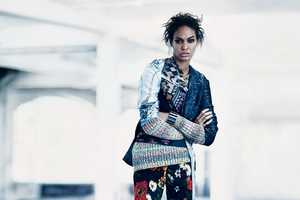 The Joan Smalls New York Times Magazine Shoot Does Bold and Edgy