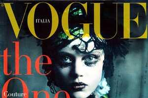 The Vogue Italia September 2011 Photo Shoot is Full of Dark Wonder