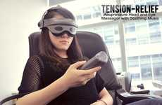 Cranial Massage Contraptions - Tension-Relief Creates a Tranquil Experience for Body and Mind