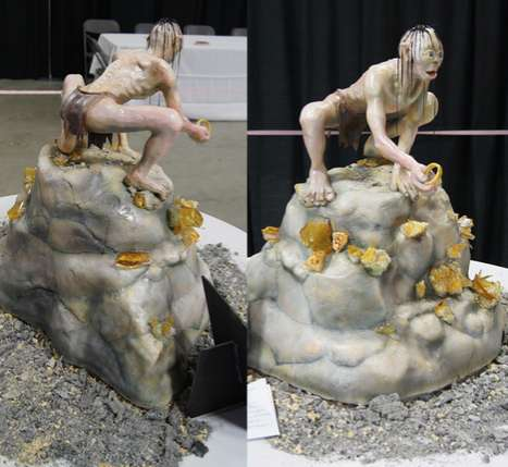 Gollum Wedding Cake