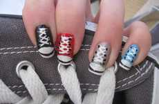 Hipster Hightop Manicures