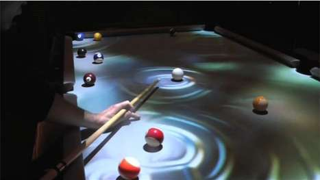 CueLight Interactive Pool Table System