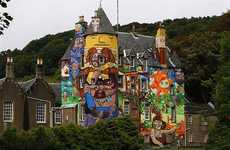 Graffitied Royal Residences