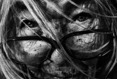 Gritty Homeless Photography - Lee Jeffries Captures the Dramatic Reality of Aging