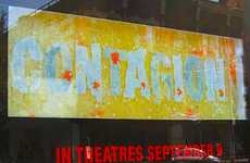 Bacterial Blockbuster Billboards - The Toronto 'Contagion' Installation is Deadly