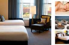 Deliberate Web-Free Lodging - The Marriott Renaissance Pittsburgh Hotel Helps Its Guests Unplug
