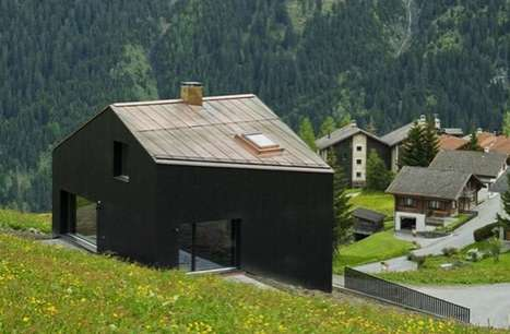 Serene Swiss Chalets - The Lumbrein Residence is a Picturesque Family Home in the Mountains