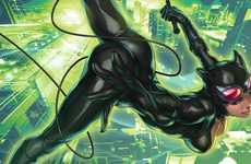 Stanley Lau Digitally Paints Famous DC Comics Females