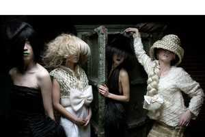 From Intricate Couture Tresses to Hairy Masks