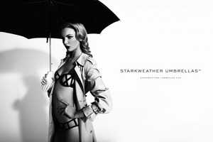 This Starkweather Umbrellas Campaign Sells More than Shelter