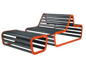The Flora Sun Deck Chair is a Fitting Backyard Bench