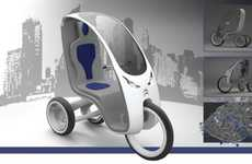 Eco-Friendly Tourist Trikes - Tuk-Tuk is Designed to Let Tourists Safely Explore Big Cities