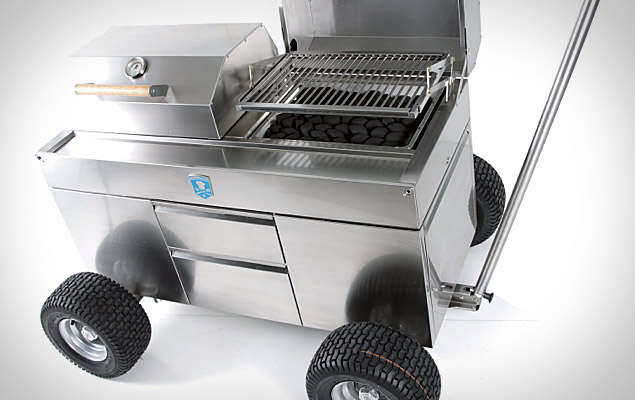 Portable Barbeque Pits