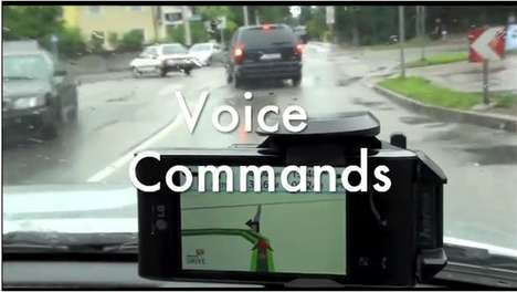 Augmented Reality GPS Apps - Wikitude Drive Displays Live Video of where you're Going