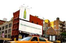 Rocking NYC Billboards - Heineken Light's 'Occasionally Perfect' Billboard Literally Rocks