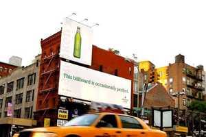 Heineken Light's 'Occasionally Perfect' Billboard Literally Rocks