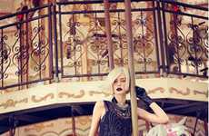 Chic Carousel Flapper Photography