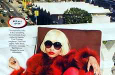 All-Red Rapper Photography - The Nicki Minaj Glamour Magazine Editorial is Sizzling