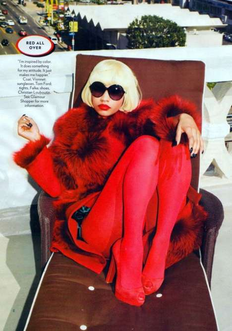 Nicki Minaj Glamour Magazine October 2011