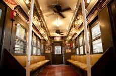 Retro Transit Makeovers - The 'Compliments of Nucky' Puts a '20s Twist on the NYC Subway System