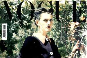 Stella Tennant's Severely Thin Waistline Shocks in Vogue Italia