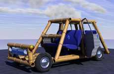 Retro Bamboo Hatchbacks