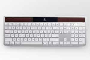 Logitech Solar Keyboard K750 is Available for Mac