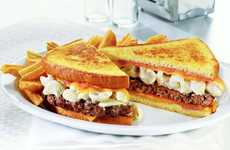 Heart-Stopping Hamburgers - The Mac N' Cheese Big Daddy Patty Melt is Daringly Delicious