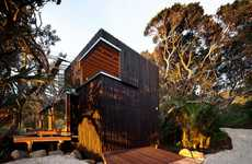 Tree-Clad Beach Abodes