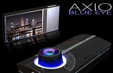 Hi-Tech Touchscreen Cameras - The AXIO Blue Eye Crops Out the Buttons