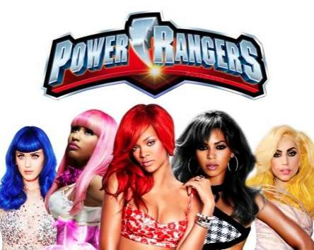 Pop Star Power Rangers