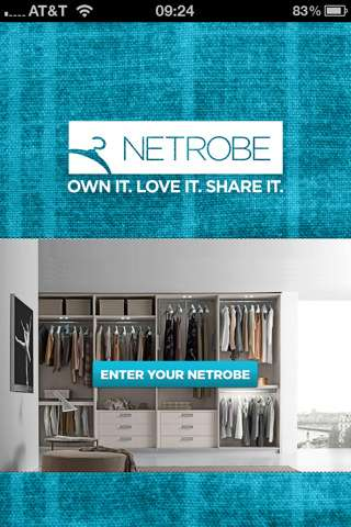 Click-In Closets - Netrobe is a Handheld Virtual Wardrobe That Will Reorganize Your Clothing