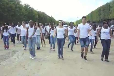 Beyonce Birthday Flashmob