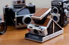 Revamped Retro Cams - Polaroid SX-70 Vintage Camera Brings Back a Classic for Photographers