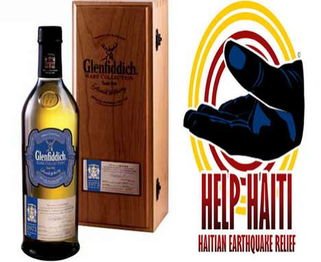 Glenfiddich Hand in Hand for Haiti Bottle
