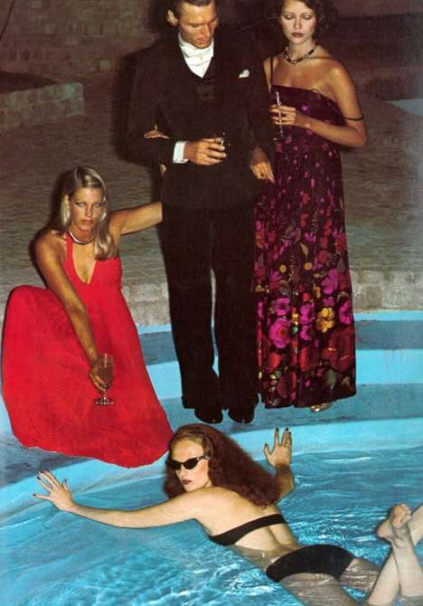 Grace Coddington by Helmut Newton