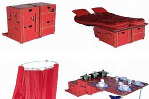 swissRoomBox Makes Camping Amazingly Easy & Convenient