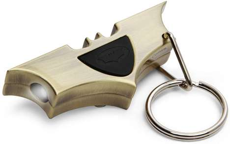 Batman Light Signal Key Chain