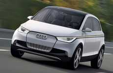 Electrified Luxury Hatchbacks - The Audi A2 is Set to Debut at the Frankfurt Motor Show