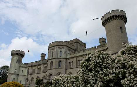 Castle Turret 100ft Slackline