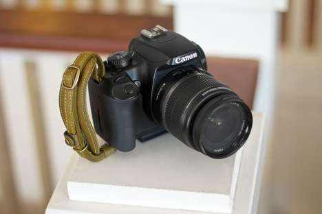 Slick Leather Camera Grapplers - The Handy Dandy Hand Strap Keeps the Grip Tight around DSLRs